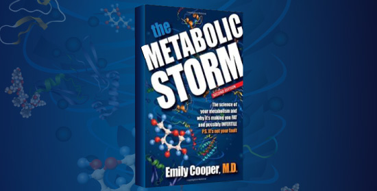 Metabolic Storm Book display